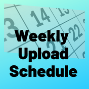 How to Keep a Weekly Posting Schedule